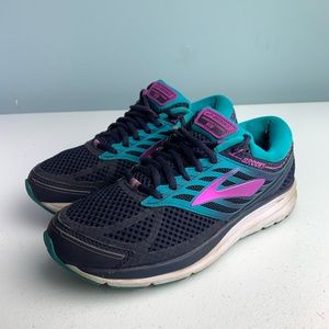 Brooks Addiction 13 women's Sz 8 Purple/Teal